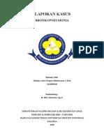 Laporan Kasus Bronkopneumonia Trifonia Astri