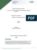 Unidad 2. Desarrollo de Productos_2018