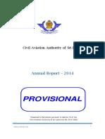 Civil Aviation Authority - Sri Lanka - Annual Report – 2014