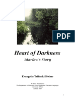 Master's Thesis Heart of Darkness