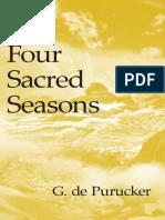De Purucker - Four Sacred Seasons.pdf