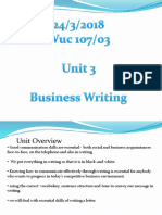 Wuc107 Unit 3 Tutorial 3
