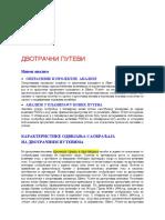 Kapacitet i NU DVOTRACNI PUTEVI HCM 1994 i Novoklasicni p