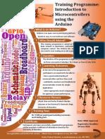 Poster Arduino Training