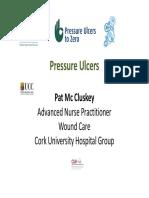 Pmcc Pressure Ulcer Presentation Cork