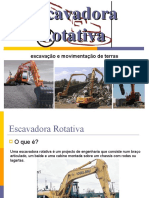escavadora rotativa
