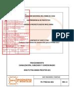 VP PC-7766-ELC-001 Canalizacion Cableado y Conexionado Rev0 ST1