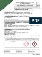 Metabissulfito de Sodio 3