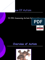 PS 553 Fontbonne Overview of Autism