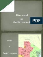 Mineritul În Dacia Romană