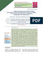 Isolation, Identification, Biochemical and Antibiotic Sensitivity Characterization of Rhizobium Strains from Vigna mungo (L) Hepper,   Cicer arietinum L and Vigna radiata (L) R Wilczek in  Muzaffarnagar, Uttar Pradesh, India