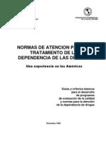 Normas Minimas de Calidad de Atencion en FD.cicaD
