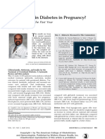 What is New in Diabetes in Pregnancy