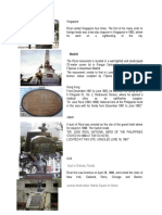 Rizal's Monuments
