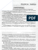 Social Science Sa2 Political Science Political Parties