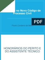 A Perícia No Novo Código de Processo Civil CRCRJ