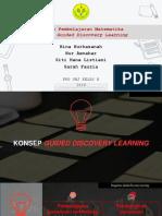 Desain Pembelajaran Matematika Guided Discovery Learning