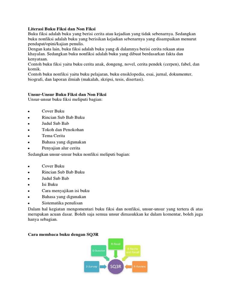 Contoh Laporan Membaca Buku Fiksi Dan Non Fiksi Brad Erva Doce Info