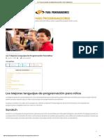 Los 7 Mejores Lenguajes de Programación Para Niños _ Para Programadores