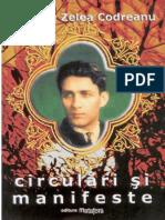 Corneliu Zelea Codreanu - Circulari si manifeste - ed. Ion Marii (col. Europa) 1981
