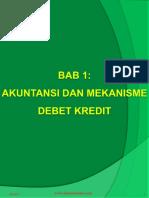 Bab 1 Akuntansi dan Mekanisme Debet Kredit.pptx