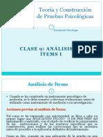 Clase 9 - Analisis de Items I