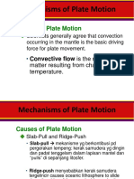 3-4 Mechanisms of Plate Motion