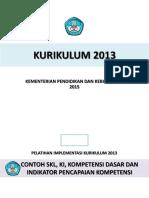 Contoh Analisis SKL,KI,KD