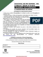 Agente Comuniat Rio de Sa De