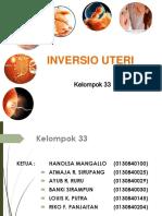 Kel. 33 Inversio Uteri
