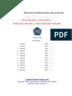 Prakt  2016 REK LALU LINTAS Form Laporan.doc