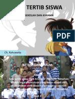 OSIS_MOS_Sosialisasi Tata Tertib & Tata Krama Siswa SMA Kristen 2 (BINSUS) Tomohon