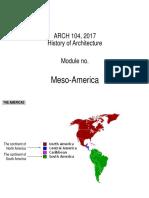 Notes - Meso America