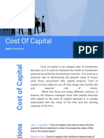 Session Three Cost of Capital