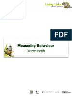 Delivery for Measuring Behaviour Power PointVersion3