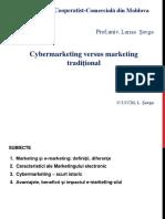Cybermarketing Versus Marketing Tradițional