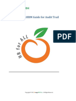 Audit Trail User Guide