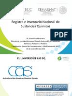 Registro e Inventario Nacional de Sustancias Quimicas RNSQ