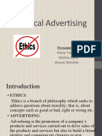 Unethical Advertising Slides