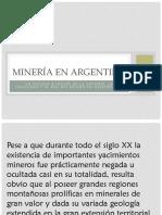 Minería en Argentina