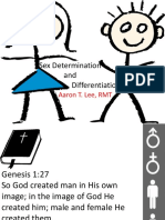 Sex Determination and Differentiation