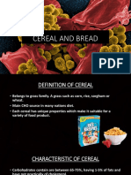 Cereal and Bread