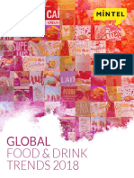 Mintel Food and Drink Trends 2018