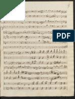 Mendelssohn Piano Concerto lá menor manuscrito grade