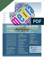 2015 06 17 Seminario Orientamenti Educativi