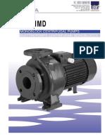 Ebara Monoblock Centrifugal Pump - MD