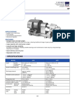 Ebara Gear Pump - GP