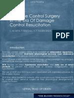 Damage Control Surgery
