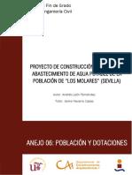 ANEJO 06. Población y Dotaciones
