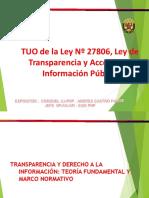 Transparencia y Acceso a La Informacion - Crnl.abog.CASTRO PAZOS - JUL2015